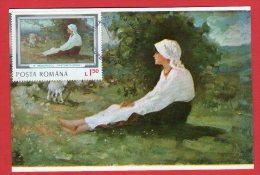 Carte Maximum - Peinture - Roumanie - Nicolae Grigorescu - - Roumanie