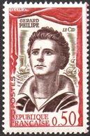 France N° 1305 ** Gérard Philipe - Théatre Dans Le Cid - France