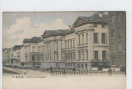 CP Liège  Institut Zoologique Vers 1904 Colorisé. - Luik