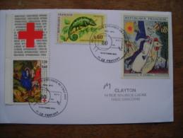 2013 Soc. Philatélique Du Creusot 80 Ans, Timbres Chagall Croix Rouge âne Camelion - Bolli Commemorativi