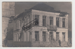 Langerbrugge (originele Foto Van Beschadigde Gebouwen - Woning) - Evergem