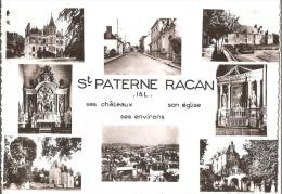 SAINT PATERNE RACAN  .. VUE D'ENSEMBLE - France
