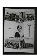 13 BOUCHES DU RHONE SAINTES MARIES DE LA MER MULTIVUES GITANS EGLISE TRIDENT PROVENCALE GARDIAN ARLESIENNE - Saintes Maries De La Mer