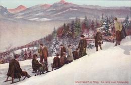 Wintersport In Tirol ; Am Weg Zum Rechenhof , Austria , 00-10s - Österreich