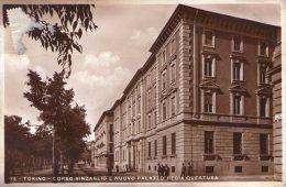 CPA: TORINO  (italie):   Corso Vinzaglio E Nuovo Palazzo Regia Questura  En 1937.   (B78) - Palazzo Reale