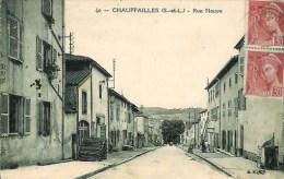 71 CHAUFFAILLES  Rue Neuve - Autres Communes