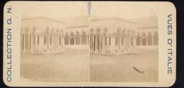 Old Stereoscopic Photo   Italia    Italy    VERONA      Edition: Giuseppe Cadel  Zara  -  OTTICO - Stereoscopio
