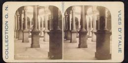 Old Stereoscopic Photo   Italia    Italy    BRESCIA      Edition: Giuseppe Cadel  Zara  -  OTTICO - Stereoscopio