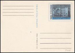 """Poland 1968, Postal Stationery """"Tourism - A Castle In Kórniku"""" Cp 370, Mint - Stamped Stationery"""