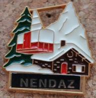 NENDAZ - CHALET - TELEPHERIQUE - CABINE - SUISSE - VALAIS  -   (ROUGE) - Ciudades