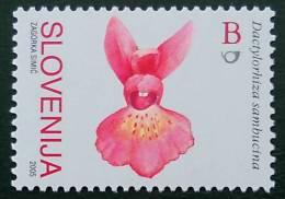 ORCHIDEE 2005- NEUF ** - YT 485 - MI 560 - Slovenië