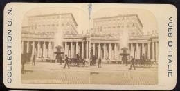 Old Stereoscopic Photo   Italia    Italy    ROMA      Edition: Giuseppe Cadel  Zara  -  OTTICO - Stereoscopio