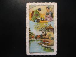 JAPAN Tokio Tokyo Coffee Poster Stamp Label Vignette Viñeta Germany Cinderella Nippon Japon - Japan
