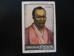JAPAN Japaner Chocolate Cocoa Grison Poster Stamp Label Vignette Viñeta Germany Cinderella Nippon Japon - Japan