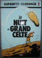 BD La Nuit Du Grand Celte Stéphan Agosto  27 Pages Shpountz Et Clodomir éditions BERSO Trés Bon état Bande Dessinée - Books, Magazines, Comics