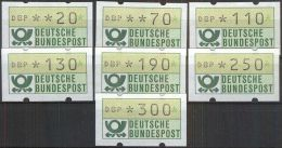 BRD RFA FRG 1981 MI-NR. Automatenmarken 1.1 Hu VS 2 ** MNH (77) - [7] Repubblica Federale