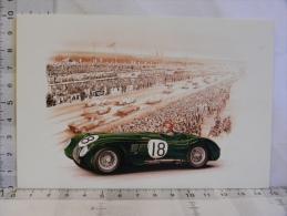 CPM - Dessins De François Bruère - LE MANS - Voitures Bugatti Panhard Jaguar... Lot De 5 Cartes - Motorsport