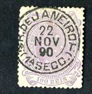 4872x)  Brazil 1890 - Scott # 101 ~ Used ~ Offers Welcome! - Used Stamps