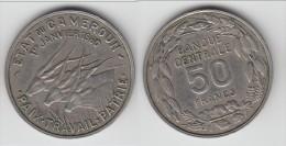 **** CAMEROUN - CAMEROON - 50 FRANCS 1960 - PAIX - TRAVAIL - PATRIE **** EN ACHAT IMMEDIAT !!! - Cameroun