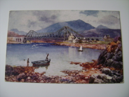 "Early Raphael Tuck ""Oilette"" Postcard - Connel Ferry   INGHILTERRA  POSTCARD USED - Argyllshire"