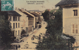 Cpa-88-xertigny- Animée Grande Rue-edi : Bernardin - Xertigny