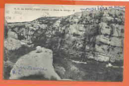 HB287, N.-D. De Rochefort , Dans La Gorge, 2, Circulée 1951 - Rochefort-du-Gard