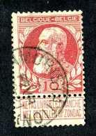 4906x)  Belgium 1905  - Scott # 85 ~ Used ~ Offers Welcome! - 1905 Thick Beard