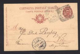ITALIE- Carte Postale De VENISE (avec Timbre Entier Postal) - Italy
