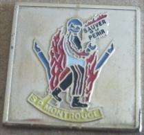 Pin´s Sapeurs Pompiers Montrouge - Bomberos