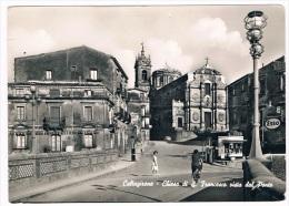 B1405 - Caltagirone - Chiesa Di S. Francesco Vista Dal Ponte - Other Cities