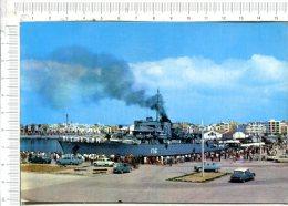 VINAROZ -  Vista Parcial Puerto -  Navire De Guerre  -  Véhicules Anciens - Non Classés