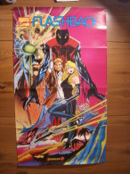 JEU VIDEO - POSTER CONSOLE + / MARVEL COMICS FLASHBACK 1993 - 84,5x49cm - Merchandising