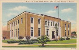Post Office Panama City Florida Curteich