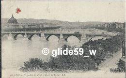 LYON - Perspective Des Ponts Et Quais Du Rhône - N° 416 - Lyon