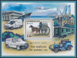 "AZERBAIJAN/AZERBAIDSCHAN EUROPA 2013 ""The Postman Van"" Block** - 2013"