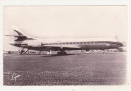 """AVIATION - LES GRANDES LIGNES AERIENNES - AIR-FRANCE - S.E. 210 """"CARAVELLE"""" - MOYEN COURRIER BI-REACTEUR DE 64-80 PLACES - 1946-....: Moderne"""