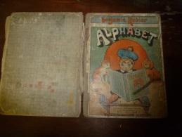 1921 ALPHABET Par Benjamin Rabier........incomplet.. .....état Médiocre - Magazines Et Périodiques