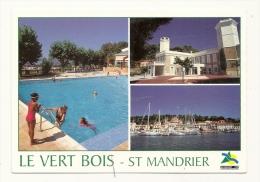 Cp, 83, Saint-Mandrier, C.C.E - S.N.C.F. Le Vert Bois, Muljti-Vues, écrite - Saint-Mandrier-sur-Mer