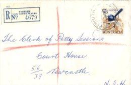 (561) Australia Registered Letter - 1966 - Penrith (see Front And Back) - Australia