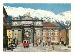 Cp, Autriche, Innsbruck, Triumphpforte Gegen Nordkette - Innsbruck