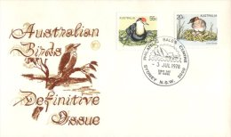 (561) Australia FDC Cover - Wesley Covers - 1978 - Australian Birds - Premiers Jours (FDC)