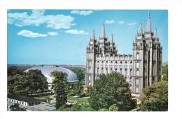 Cp, Etats-Unis, Salt Lake City, Temple Square - Salt Lake City