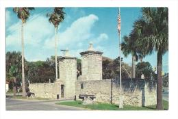 Cp, Etats-Unis, St-Augustine, Historic City Gates, écrite - St Augustine