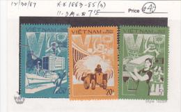 Vietnam 1987 Productivity Set MNH - Vietnam