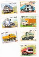 Vietnam 1990 Trucks Set MNH - Vietnam