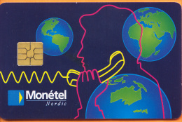 Swaziland - Test Card, Monetel-Nordic Blue, 1/95, 2.000ex, Mint?? - Swaziland