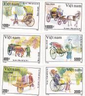 Vietnam 1993 Rickshaw Set MNH - Vietnam