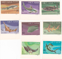 Vietnam1980 Saltwater Fish Imperforated Set MNH - Vietnam