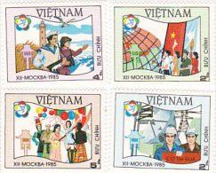 Vietnam1985 Moscow 85 Expo Set MNH - Vietnam