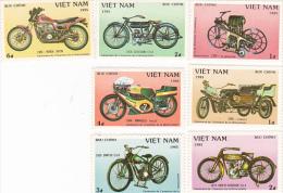 Vietnam1985 Motorcycles Set MNH - Vietnam